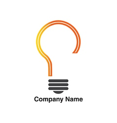 Idea logo vector image