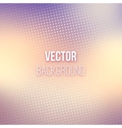 Smooth Blurred Background With Halftone Effect vector image vector image