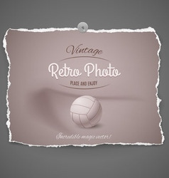Soccer ball on background vector image vector image