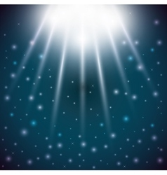 Stars light blue sky magic surprise icon vector