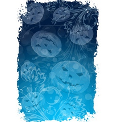 Abstract Grungy Halloween Background vector image