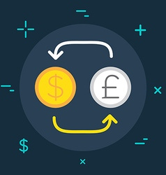 Business or Finance Category Flat Minimal Style vector image