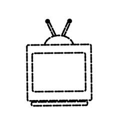 Tv media technology vector