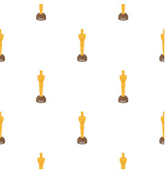 Academy award icon in cartoon style isolated on vector