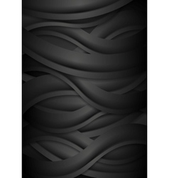 Black concept corporate abstract background with vector