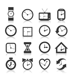 Hours an icon vector image vector image