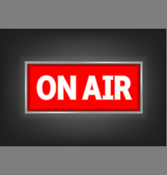 on air symbol vector image vector image