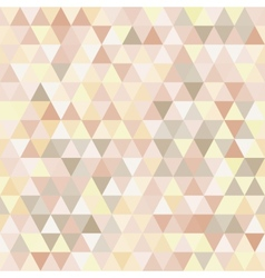 Triangle neutral abstract background vector image vector image