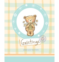 Greeting card vector