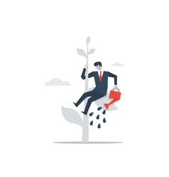 Management education concept business development vector image vector image