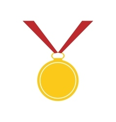 Medal winner competition sport icon vector