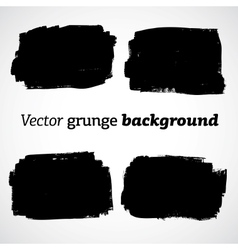 Black grunge abstract background vector