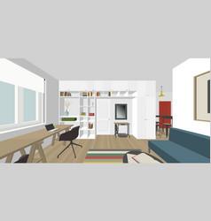 interior vector image