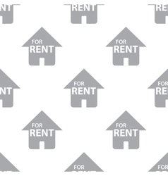 New for rent seamless pattern vector