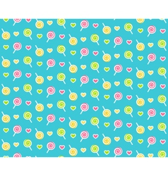 Seamless bright childish abstract pattern with vector