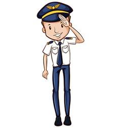 A sketch of a happy pilot vector