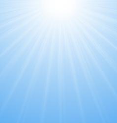 Sun Sunburst Pattern vector image