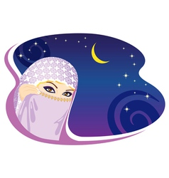 Arabian night vector