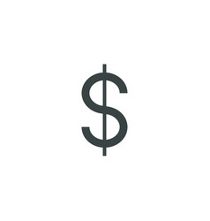 Money icon simple vector