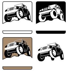 Offroad symbol vector