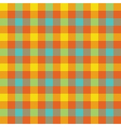 Colored check tablecloth seamless pattern vector