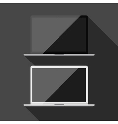 Laptop isolated vector image