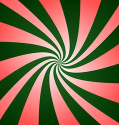Red green twirl design vector
