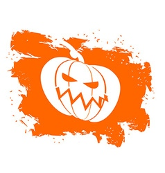 Flag halloween grunge style on white background vector