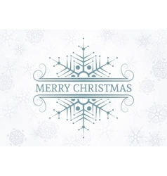 Decorative christmas design element vector