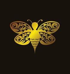 art bee vector image
