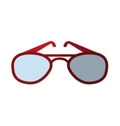 Aviator sunglasses icon image vector