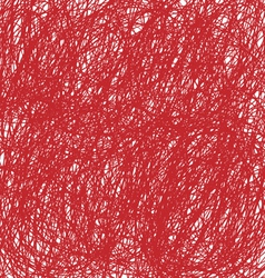 Red christmas hand drawn background vector