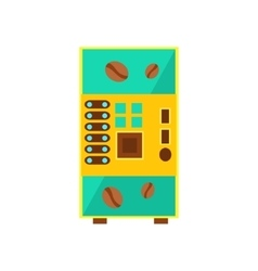 Coffee Drink Vending Machine Design vector image