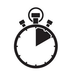 Ten minute stop watch countdown vector