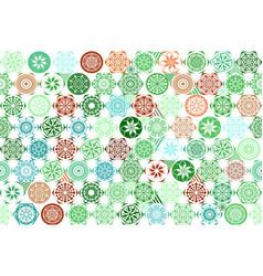 Seamless mega gorgeous seamless patchwork pattern vector