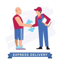 Express delivery symbols icon vector