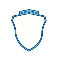 Badge shield symbol vector
