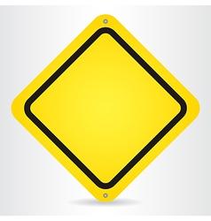 Danger Blank vector image vector image