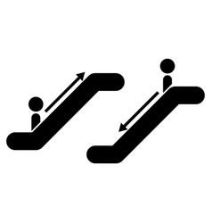 Escalator vector