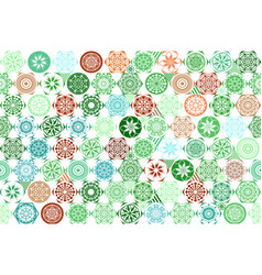 Seamless mega gorgeous seamless patchwork pattern vector