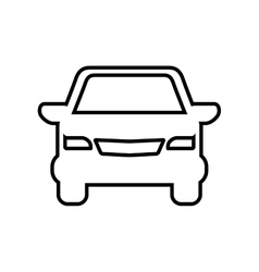 Car transportation delivery travel icon vector
