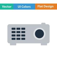 Video projector icon vector