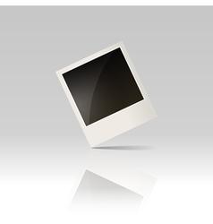 blank photo vector image vector image