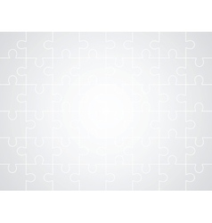 Gray puzzle background vector