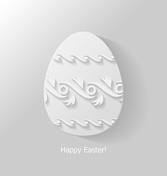 Egg ornament 3 vector
