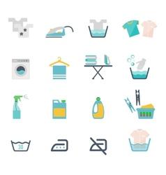 Laundry symbols vector