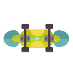 skateboard icon extreme sport sign vector image vector image