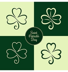 St patrick symbol vector image vector image