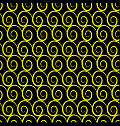 Wave geometric seamless pattern 909 vector