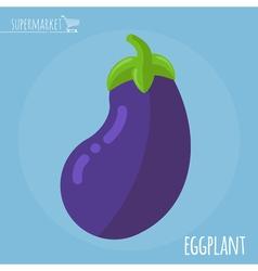 Eggplant icon vector
